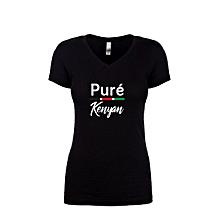 Pure Kenyan T-shirt for Ladies
