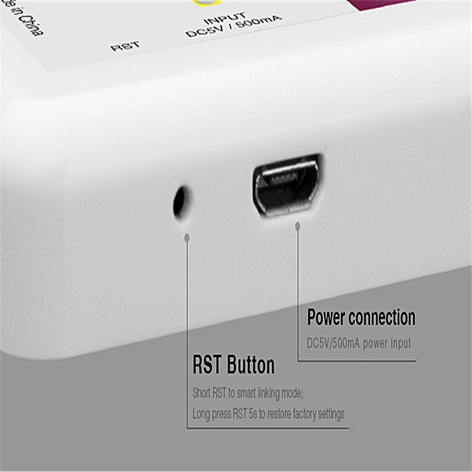 CLAITE DC5V Mi Light WiFi iBox LED Controller 2 4G Wireless Smart Phone  Controller for RGBWW RGBW RGBCCT LED Strip Lights