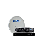 HD Complete KIT - HD Decoder (Model 5S) - Black + Dish + 1 Month Compact Subscription & Free Installation*