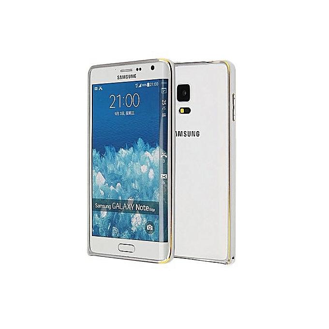 Aluminum Metal Bumper For Samsung Galaxy Note Edge N9150 (Silver)