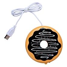 Desktop Laptop USB Heated Coffee / Tea /Milk Mug Warmer, Candle  Wax Warmer