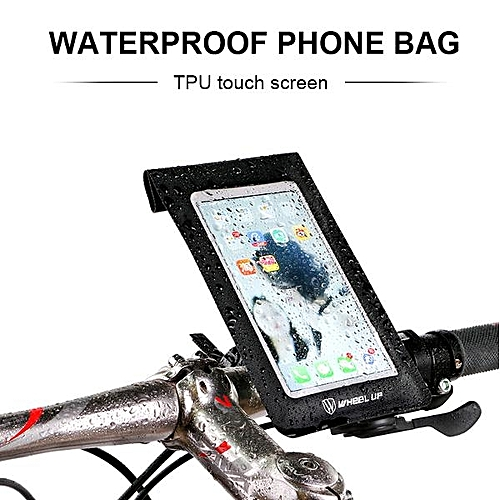 f39e92900e8 Buy Generic WHEEL UP New Bike Waterproof Touchscreen Phone Bag Universal  360 Rotataing Quick Release Sensitive Touchable Case Box Extender   Best  Price ...