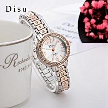 Luxury Diamond Watch Women Watches Bracelet Women's Watches Ladies Watch Clock Women Gold & Silver