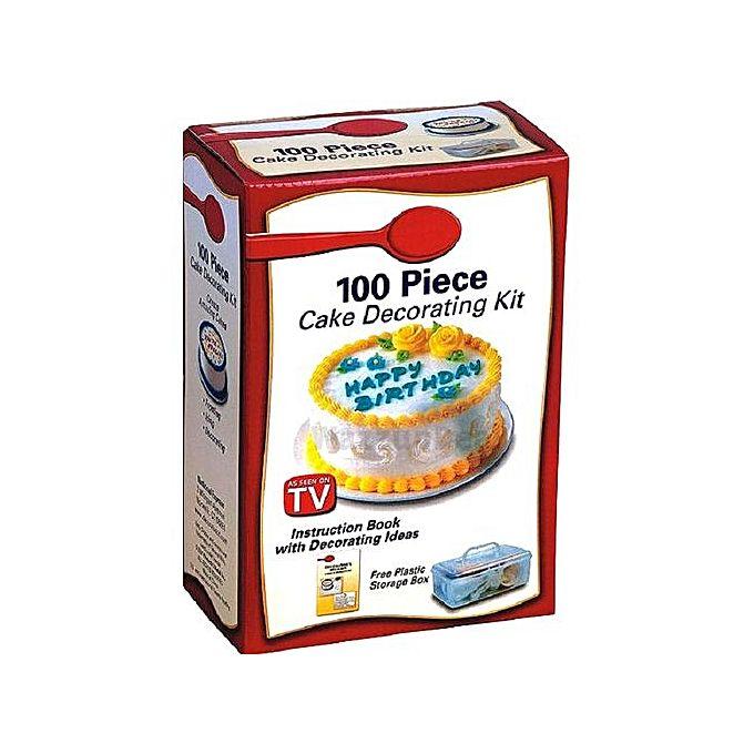 100 piece cake decorating kit jumia kenya for 100 piece cake decoration kit