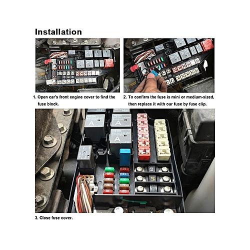 Buy Generic IZTOSSManual Reset Circuit Breaker Blade Fuse With ... on