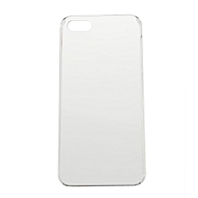 CO Smooth Crystal Plastic Hard Skin Back Case Cover Protector For Apple iPhone 5-Transparent white