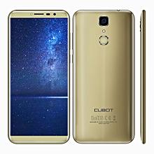Cubot X18 4G Smartphone Android 7.0 5.7 inch MTK6737T Quad Core 1.5GHz 3GB RAM 32GB ROM 13.0MP Rear Camera Fingerprint Scanner - GOLDEN