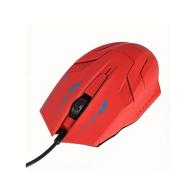 ... High Quality K059 USB 2.0 Wired 3D Optical LED Gaming Mouse 2400DPI For Laptop PC Computer ...