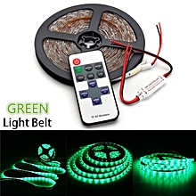 LED Strip Light For Boat Truck Car SUV Waterproof 5M 300 LED Car Lights Decorative Lamp Wireless Controller Green