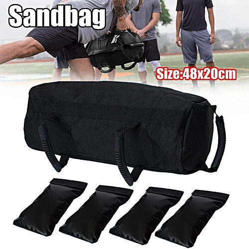 85df7092042a Generic Fitness Sandbag With 4Pcs Small Sand Bag Boxing Training Adjustable  Weight Fight   Best Price