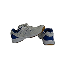 Table Tennis/Badmintion Shoes- 2016white/Royal- 4