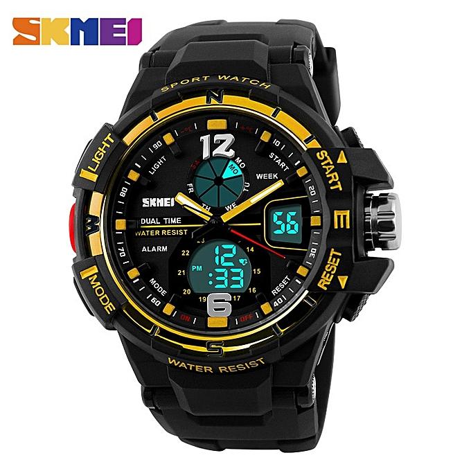 2cf71c2bf Men Digital Watch Waterproof Chronograph Outdoor Sports Watches Top Brand  Fashion Quartz Wristwatches
