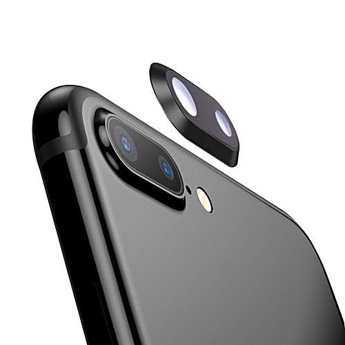 best service ad76a 3ca27 Rear Camera Lens Ring for iPhone 8 Plus (Black)