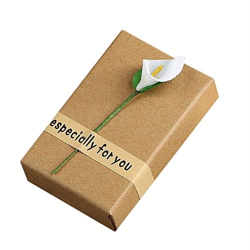Buy Generic Rectangle Fashion Jewelry Necklace Bracelet Gift Box