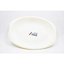 Oval Plate #444. Medium