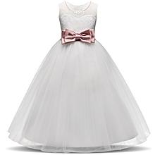 women woman lady Girl Dress Kids Ruffles embroidery Lace Party Wedding Dancing Dresses  Fashion Children Dress Skirt Girls Princess Dress