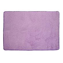 Fiber House Living Room Bedroom Carpet Anti-Skid Shaggy Area Rug Floor Mat Purple