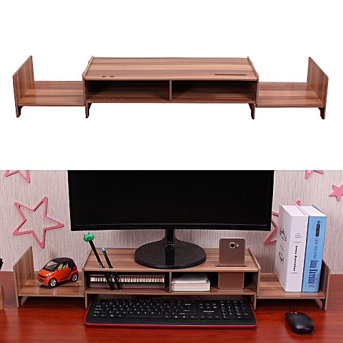 Generic Diy Multipurpose Monitor Stand Riser Large Desk Organizer