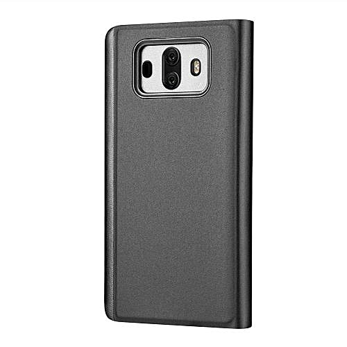 brand new 9db59 6a4fe Clearance Sale Anti-fingerprint Flip Stand Touch Phone Case Smart Mirror  Phone Cover Shell For Huawei Mate 10