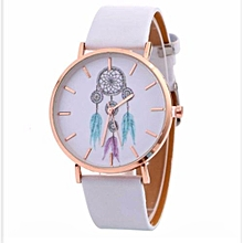 Dope Dealer Turquoise PU Leather Ladies Wrist Watch