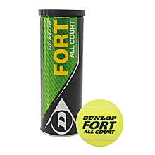 Fort All Court Tennis Ball - Yellow