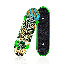 1pc Pack Finger Board Deck Truck Hand Skateboard Boy Child Novelties Toys-