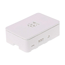 ABS Updated Case Premium Raspberry Pi Case For Raspberry Pi 3 2 and B+ White