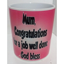 Christmas coffee mug for mum