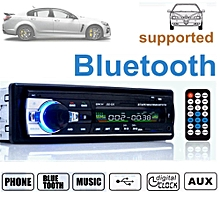 Bluetooth Car 12V SD USB MP3 FM Radio Audio 1 DIN In Dash Aux Input Receiver