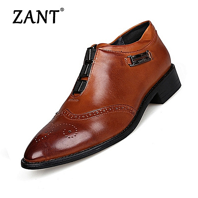 750e79924c Mens High Quality Oxford Shoes For Men Lace-Up Business Shoes Brand Men  Wedding Shoes Brown