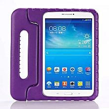 Shock Proof EVA Foam Handle Case Cover For Samsung Galaxy Tab E T560 PP-Purple