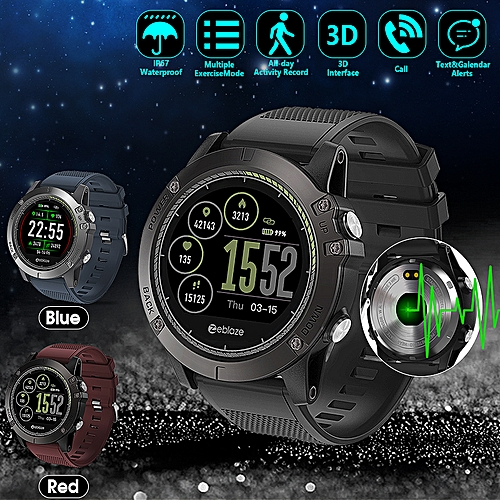 51202247bc9 Zeblaze Zeblaze VIBE 3 HR Waterproof Smart Watch Calories Real-time Heart  Rate Monitor