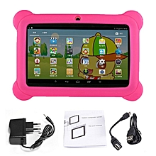 Professional 7 inch Children Tablet 2G+16G A33 Quad Core Dual Camera Tablet PC pink