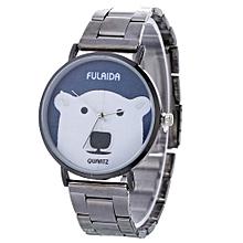 Women Ladies Casual New Design Alloy Strap Quartz Wrist Watch E