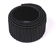 bluerdream-New Girl Hair DIY Styling Donut Former Foam French Twist Magic Tools Bun Maker-Black