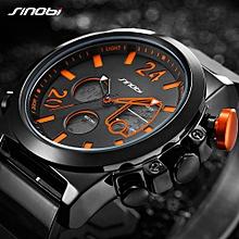 Sport Quartz Watch 3ATM Water-resistant Men Watches Luminous Wristwatch Male Relogio Musculino Chronograph