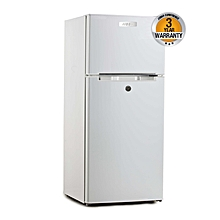 ARF-D178(W) - Two Door Refrigerator - 6CuFt - 118L - White