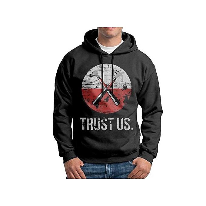 Custom Printed Trust Usb Mens Hoodies