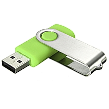64GB 64G USB 2.0 Foldable Flash Memory Stick Drive Data Storage Thumb Pen Disk -green - green