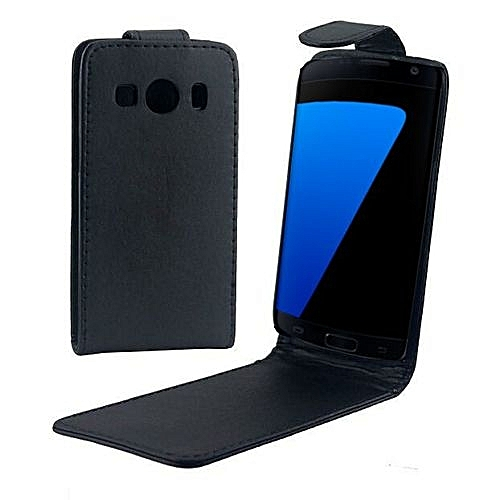 af8fd109f0d Generic Vertical Flip Magnetic Snap Leather Case For Galaxy Ace Style LTE /  G357 (Black)