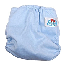 1Pcs Reusable Washable Adjustable Baby Soft Cotton Diaper Nappy Dry Tender Care-AS Shown