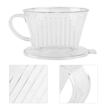 PP Resin Coffee Filter Cup Drip Coffee Filter Manually Follicular Filter