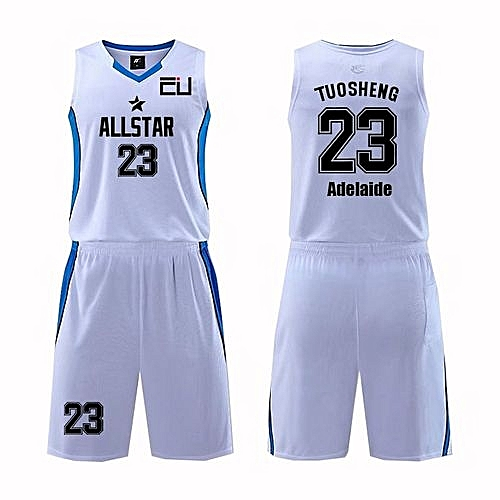 b038ebbb4 Longo Customized Name Number Men s Basketball Team Sport Jersey Uniform- White(MDS-1702)