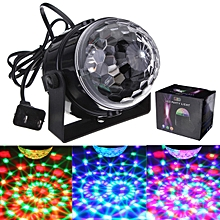 RGB Disco DJ Stage Light Home Club Party LED Crystal Magic Ball Effect Lighting Plug In US