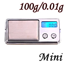 Technologg Electronic Scale   100g/0.01g Electronic Digital LCD Display Scale Portable Pocket Jewelry Scale-Silver