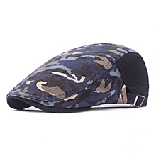 Men Women Graffiti Cotton Beret Hat Summer Casual Sunscreen Forward Cap