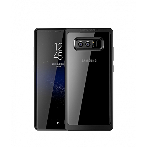 sale retailer 837cf da715 Samsung Galaxy Note8 Ultra Slim Shockproof Bumper Cover with Crystal Clear  Back Protective Case