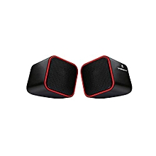 VB-702-RED - Diamond Speaker - Red