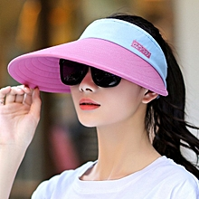 1Mei redThe sun protection lady hides a sun hat in summer the open air ride big Yan of bike to defend an empty crest of ultraviolet ray the sun hat open air's riding bike hat in summer sun protection can fold a hat