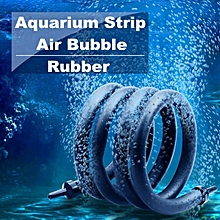 Aquarium Air Bubble Rubber Strip Tube Fish Tank Aerator Oxygen Pump Diffuser # 75cm